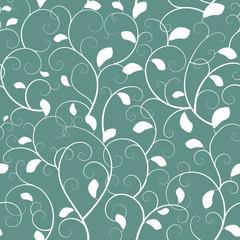 Wall Mural - Vintage seamless branch pattern