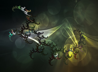 Heavenly Scorpio. Fractal