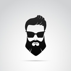 Beard VECTOR icon.