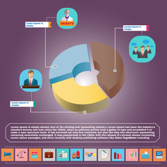 Presidential Debates Infographic