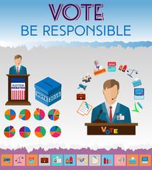 Presidential Debates Icons