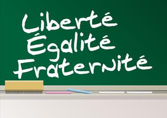 TABLEAU_Liberte Egalite Fraternite