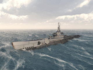 American submarine of World War II