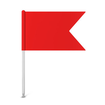 Pin flag