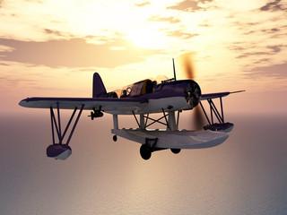American observation floatplane of World War II
