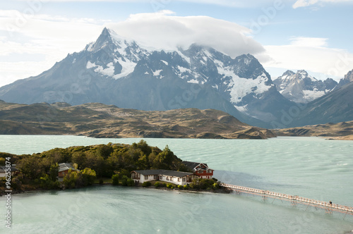 Wall mural Pehoe Lake - Torres Del Paine National Park - Chile