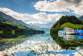 Lungerersee, Schweiz