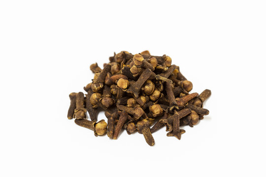 Macro of Fragrant cloves