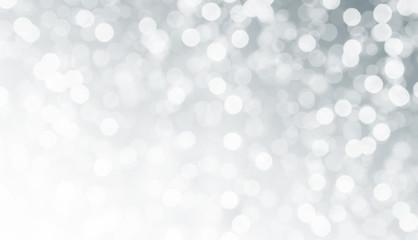 Hintergrund Silver bokeh