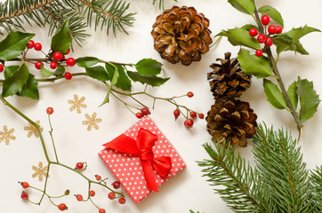 objects for Christmas decorations