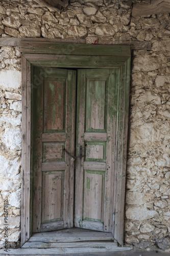 Eski Ahşap Kapı Duvar Fon Ve Arka Plan Stock Photo And Royalty