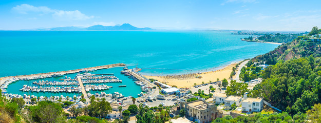 Papiers peints Tunisie The haven of Sidi Bou Said