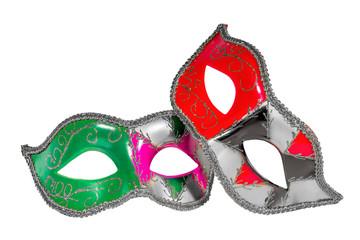 Venetian Carnival Mask   patterned asymmetrical frontal picture