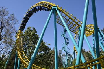 Amazing Amusement park in Santiago, Chile