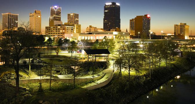 Night in Little Rock