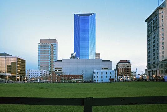 Blue morning in Lexington