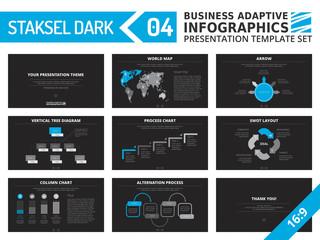 Presentation template set 7