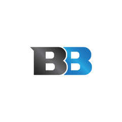 unique sign initials name BB Lettermark
