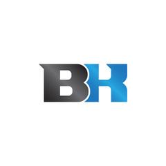 unique sign initials name BK Lettermark