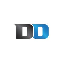 initials name DO Lettermark