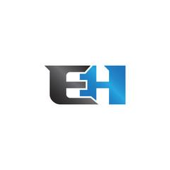 initials name EH Lettermark