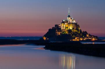 Mont Saint Michel,landscape of France