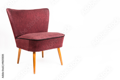 retro stuhl 50er 60er jahre stockfotos und lizenzfreie bilder auf bild 96315838. Black Bedroom Furniture Sets. Home Design Ideas