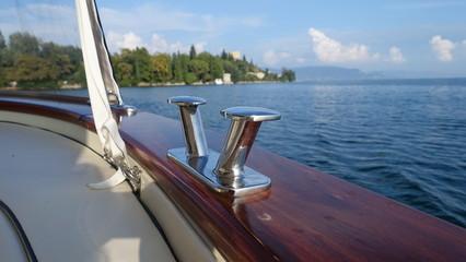 sailing over lake Garada