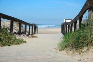 Fototapete - algarve weg zum strand I