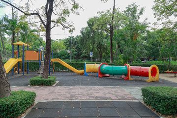 Colorful children playground