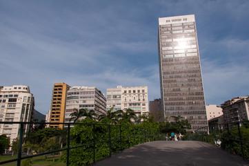 Buildings of Flamengo District in Rio de Janeiro