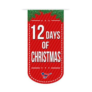 12 Days of Christmas banner design