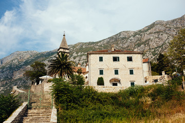 Old building in Montenegro, Kotor.