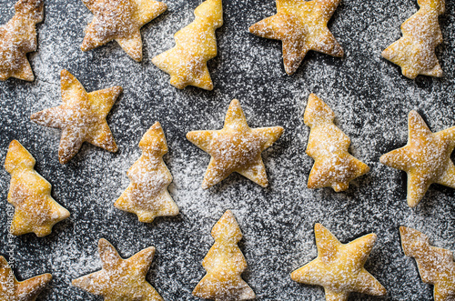 Christmas Cookies Background Stock Photo And Royalty Free Images On