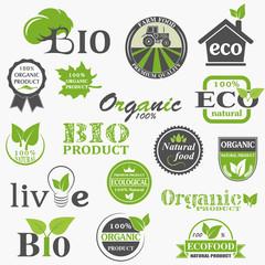 Natural organic product labels
