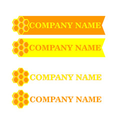 A logo for the beekeeping