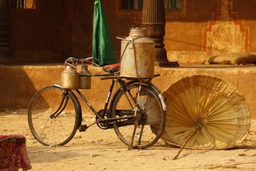 Photo sur Aluminium Rural house at Rajasthan India
