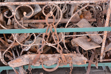 Metal Ready for Recycling