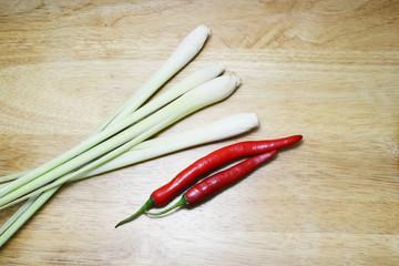 lemongrass and vegetable