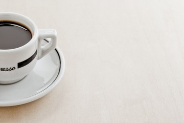 cropped image of a cup of coffee