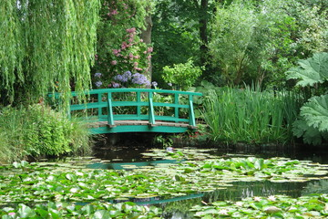 Garten von Claude Monet in Giverny