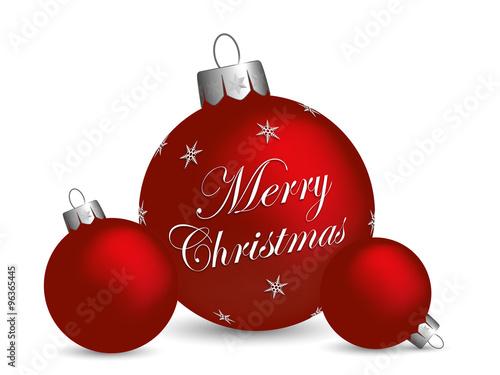 Merry christmas weihnachtskugeln stockfotos und lizenzfreie vektoren auf bild - Bilder weihnachtskugeln ...