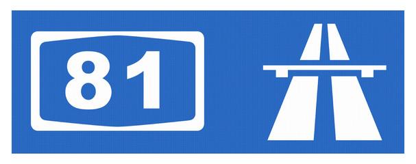 A 81-Symbol mit Reflektierung