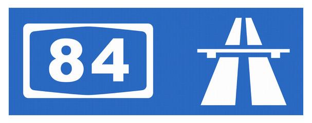 A 84-Symbol mit Reflektierung