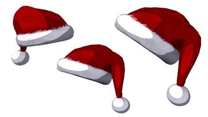 Christmas hats set