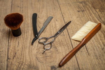 These tools will help the barber to work