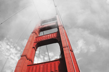 Golden Gate Bridge stock photo High quality