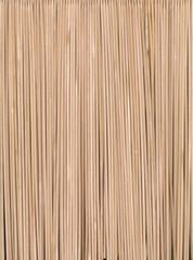 Numerous wood skewers