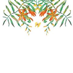 Decorativ watercolor design papper