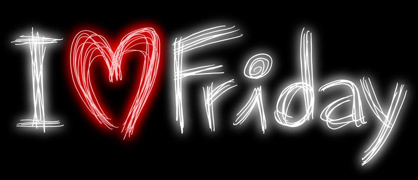 love friday symbol